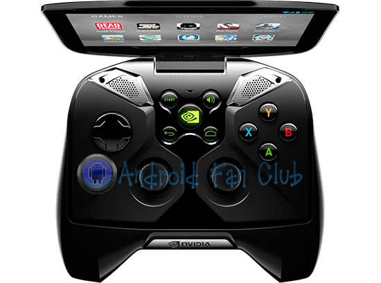 Nvidia Project Shield - Portable Android Gaming Console based on