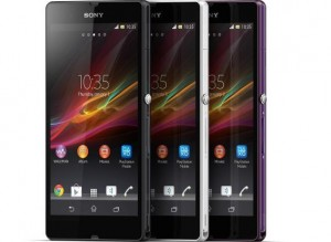 Sony Xperia Z - Quadcore Waterproof & dust resistant smart phone