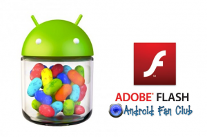 Adobe Flash Player for Android Gingerbread, Ice Cream Sandwich and Jelly Beans