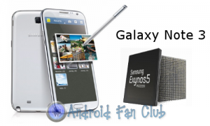 Samsung Galaxy Note III Specifications