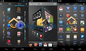 ADWLauncher Ex for Android smartphones & tablets