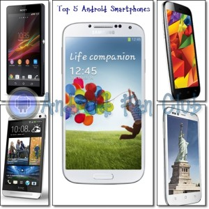 Top 5 Best Selling Android Smartphones