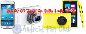 Samsung Galaxy S4 Zoom vs. Nokia Lumia 1020
