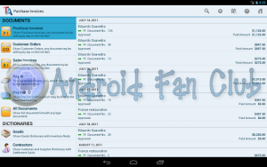 Trade Accounting for Android
