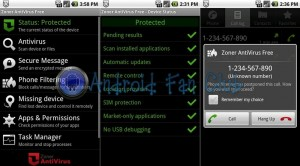 Zoner AntiVirus Free for Android smartphones & tablets