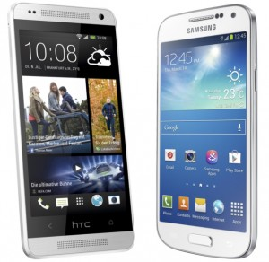 HTC One Mini vs. Samsung Galaxy S4 Mini