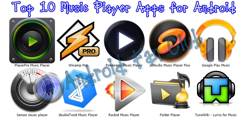 Top 10 Music Player Apps For Samsung, Xiaomi, Huawei Phones »