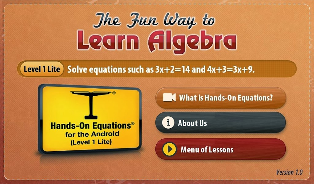 learning algebra Basic algebra - an introduction you may have heard that algebra is a difficult topic don't worry - here's a basic algebra lesson using a really simple way to get started.