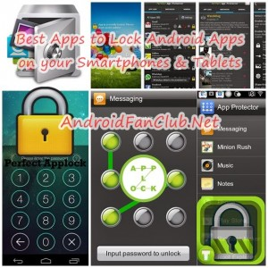 Password & Pattern Lock Android Apps