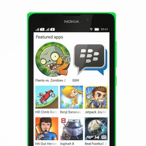 Nokia XL Android Apps