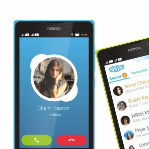 Nokia XL Skype Video Calls