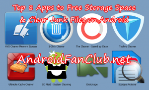 Top 8 Best Android Applications To Free Storage & Clear Junk Files