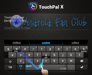 TouchPal X Keyboard - Best Android Keyboard Apps APK
