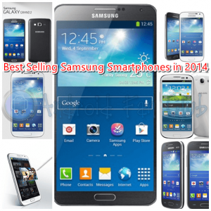 Best Seller Samsung Android Smartphones in 2014