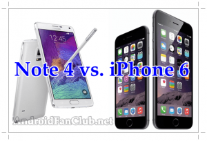 Samsung Galaxy Note 4 vs. Apple iPhone 6 - Which One Is The Best?