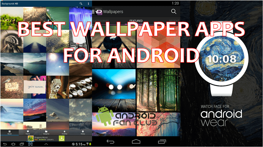 top 5 best free wallpaper apps for android