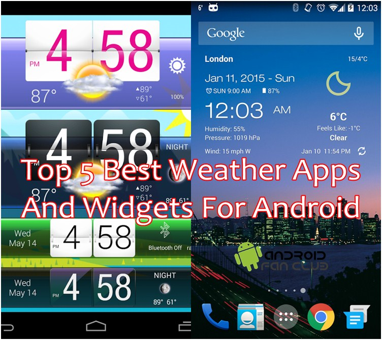 what is the best weather app for iphone top 5 best weather apps amp widgets for android 21221