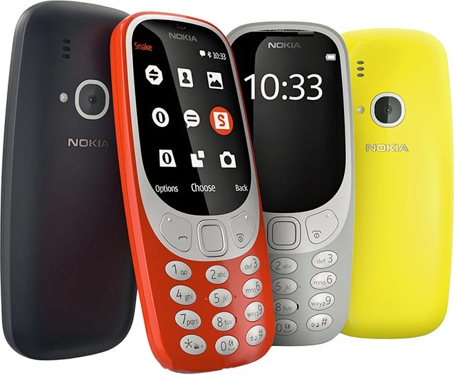 Nokia 3310 Returns in 2017